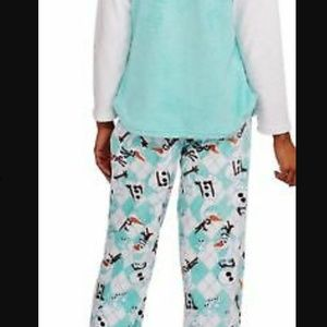 Disney's Frozen OLAF Womens L 12-14 / 2 Piece Set